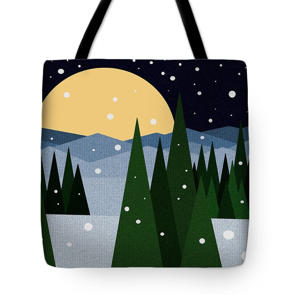 Merry Christmas Tote Bag by Val Arie