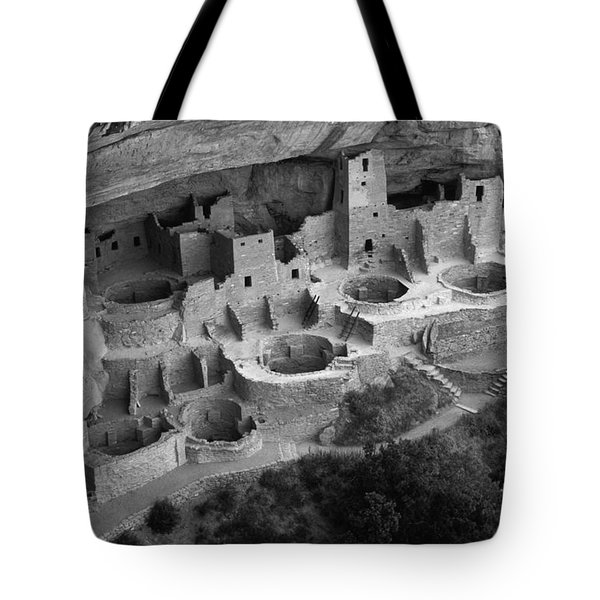 Mesa Verde Monochrome Tote Bag by Bob Christopher