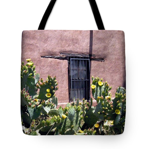 Mesilla Bouquet Tote Bag by Kurt Van Wagner