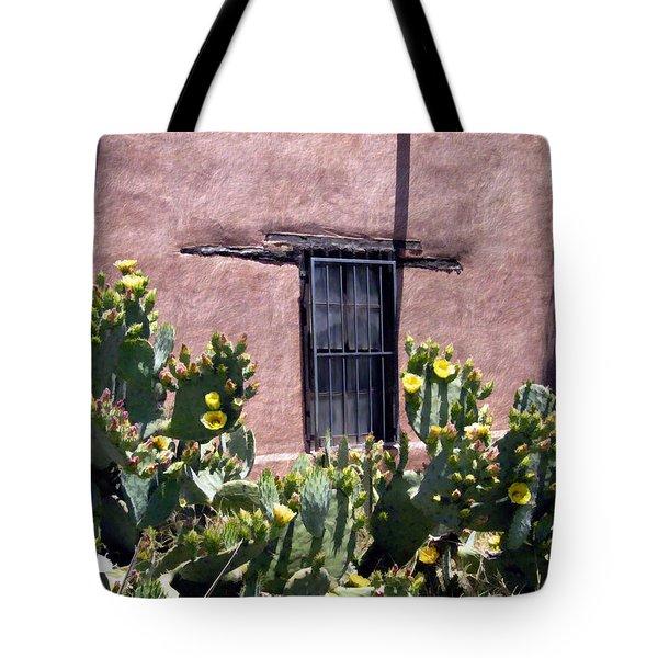 Mesilla Bouquet Tote Bag by Kurt Van Wagner