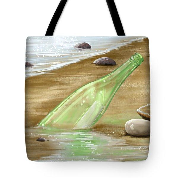 Message Tote Bag by Veronica Minozzi