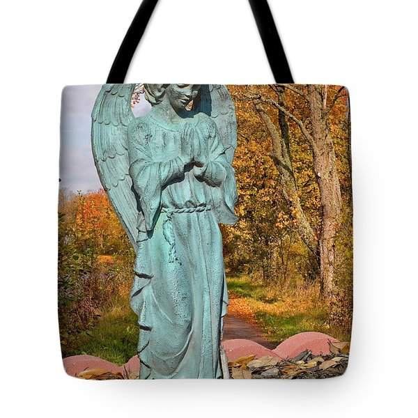 Messenger between two worlds Tote Bag by Christine Till