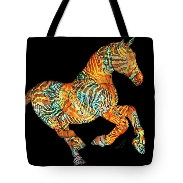 Messenger Tote Bag by Betsy Knapp