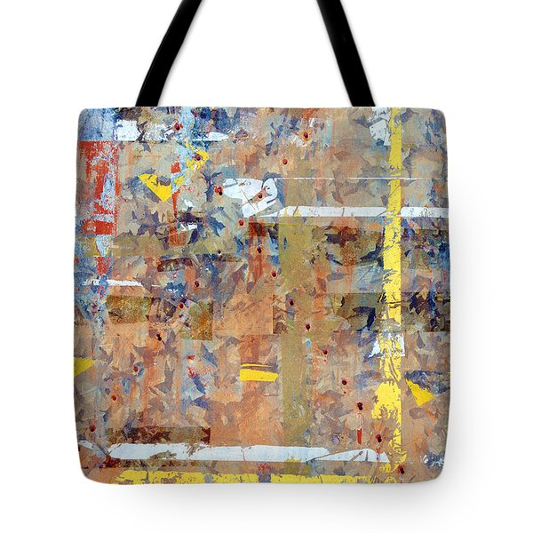 Messy Background Tote Bag by Carlos Caetano
