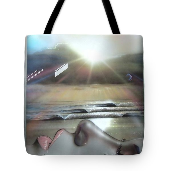 'metallic Visions' Tote Bag by Christian Chapman Art