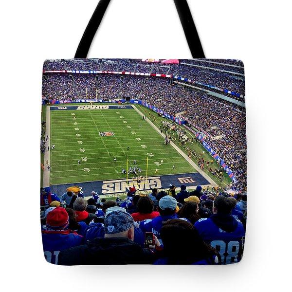 Metlife Stadium Tote Bag by Gary Keesler
