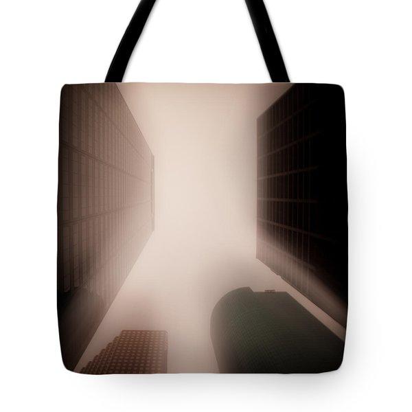 Metropolis Tote Bag by Dave Bowman