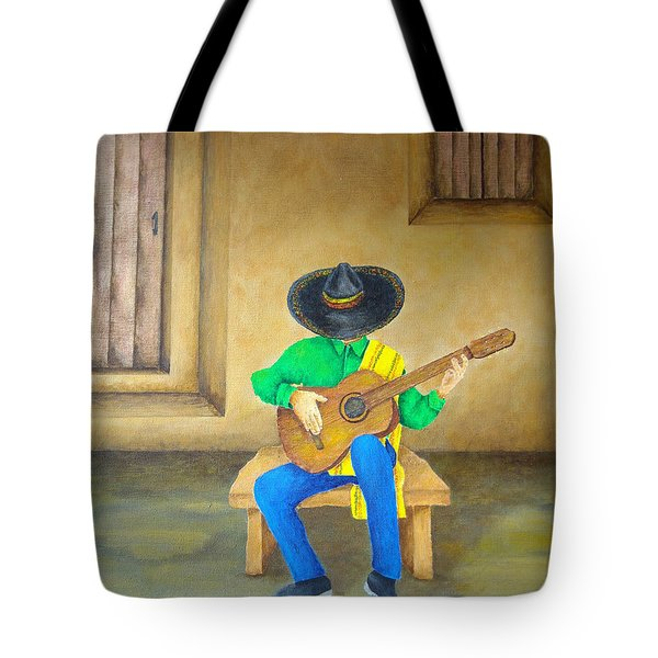Mexican Serenade Tote Bag by Pamela Allegretto