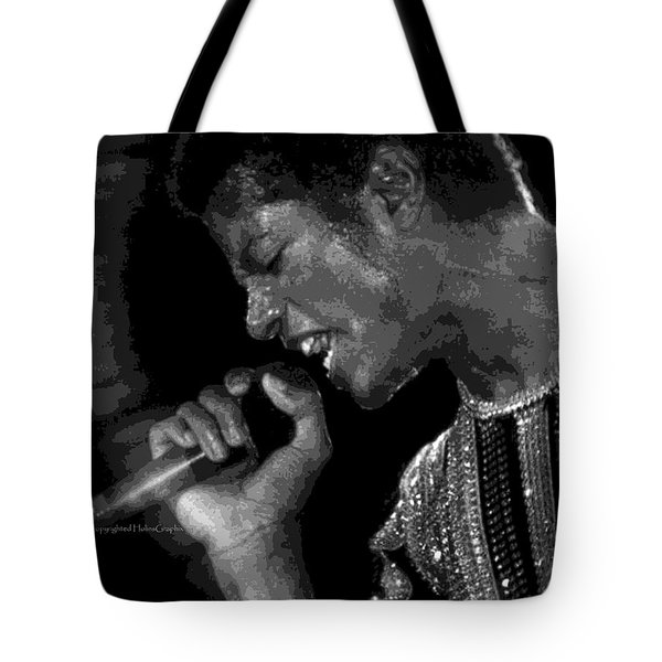 Michael Jackson .limited.edition.50. Tote Bag by Leon Hollins III
