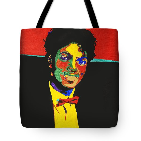 Michael Jackson Tote Bag by Stormm Bradshaw