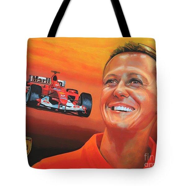 Michael Schumacher 2 Tote Bag by Paul  Meijering