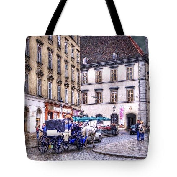 Michaelerplatz. Vienna Tote Bag by Juli Scalzi