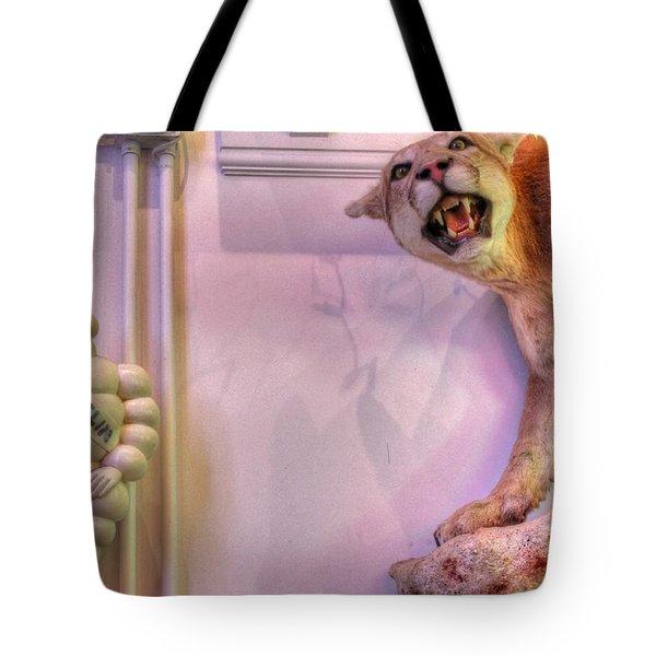 Michelin man Tote Bag by Jane Linders