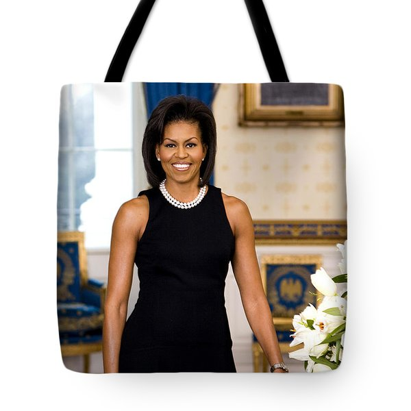 Michelle Obama Tote Bag by Official White House Photo