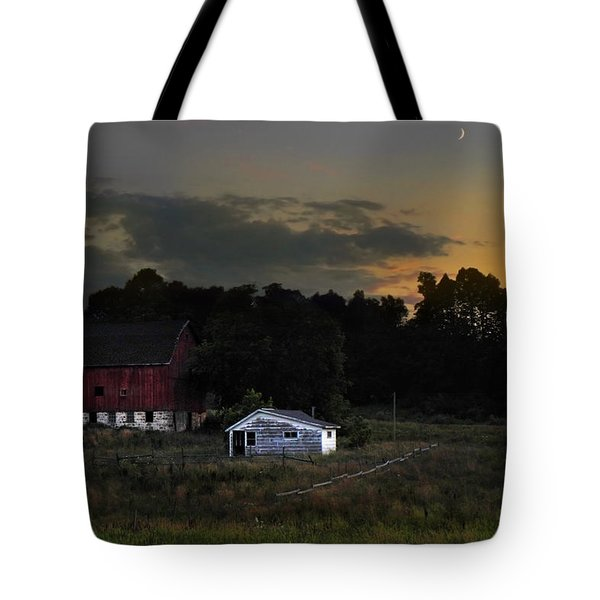 Michigan Sky Tote Bag by Christina Rollo