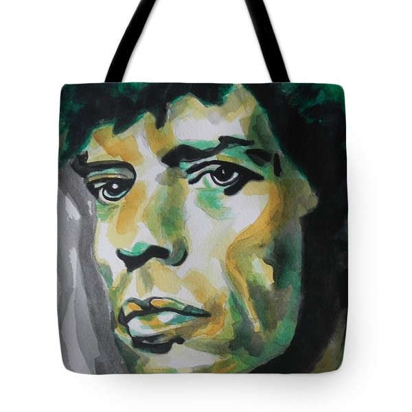Mick Jagger Tote Bag by Chrisann Ellis