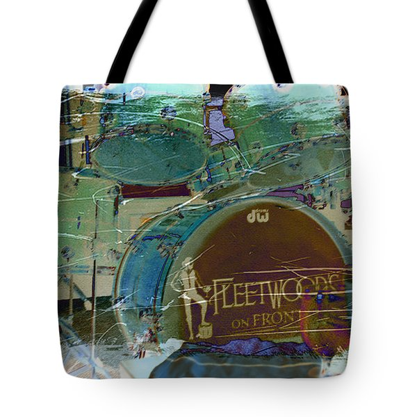 Mick's Drums Tote Bag by Paulette B Wright