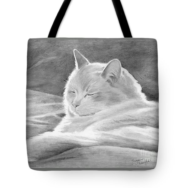Mid-morning Meditation Tote Bag by Suzanne Schaefer