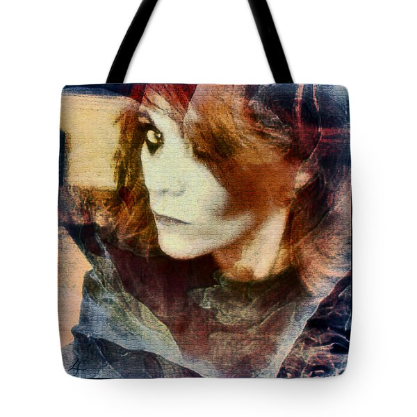 Midnight Darkness Tote Bag by Linda Sannuti