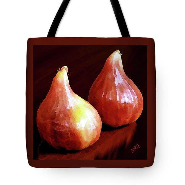 Midnight Figs Tote Bag by Ben and Raisa Gertsberg