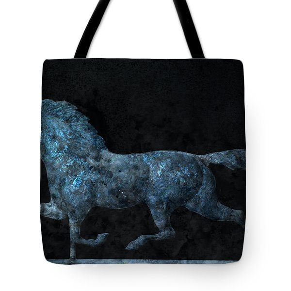 Midnight Run - Weathervane Tote Bag by John Stephens