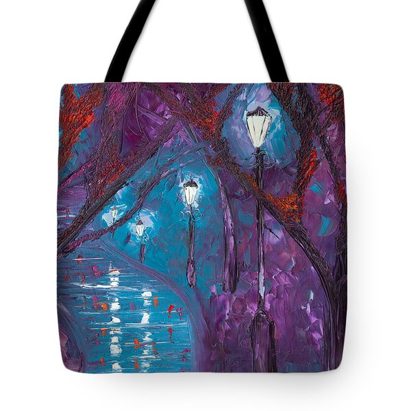 Midnight Soliloquy  Tote Bag by Jessilyn Park