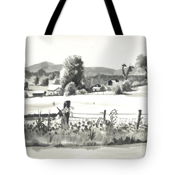 Midsummer View Out Route Jj   No I101 Tote Bag by Kip DeVore