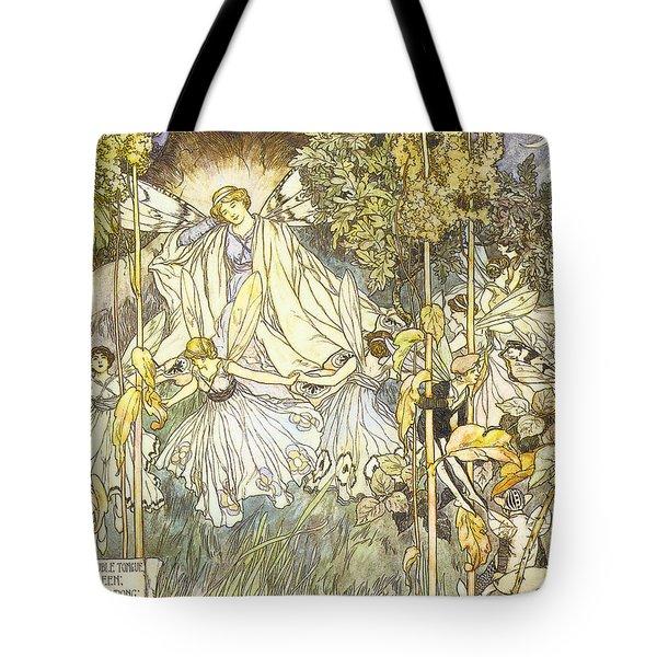 Midsummer's Night Dream Tote Bag by Stephene Reid