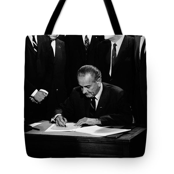 Mightier than the Sword Tote Bag by Benjamin Yeager
