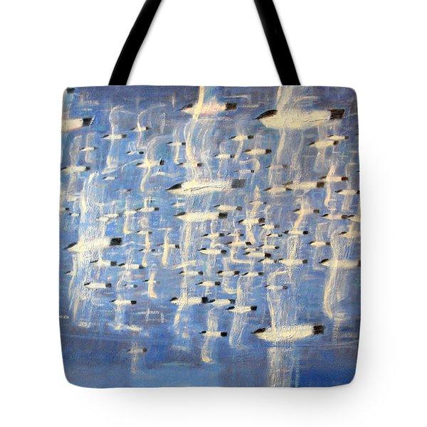 Migrate Tote Bag by Charlie Baird