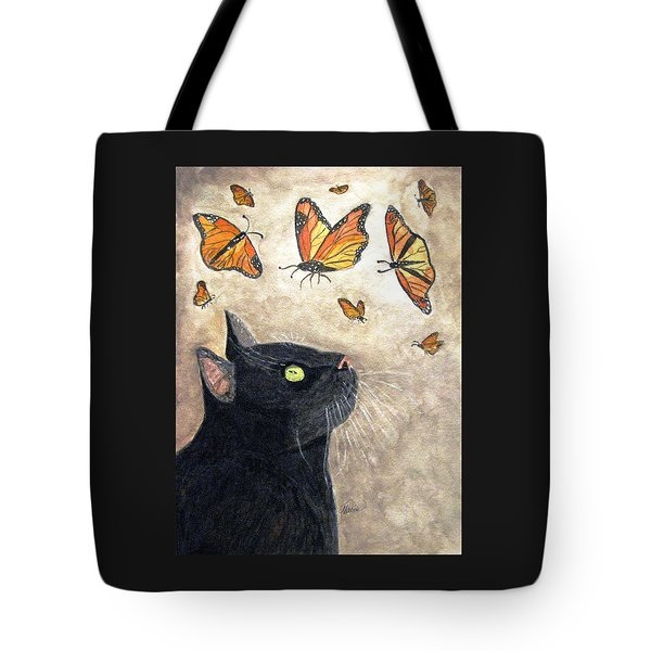 Migration Tote Bag by Angela Davies