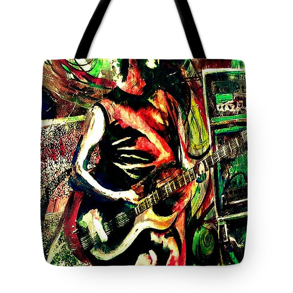 Mike Gordon At Deer Creek Tote Bag by Kevin J Cooper Artwork