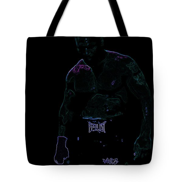 Mike Tyson Tote Bag by Brian Reaves