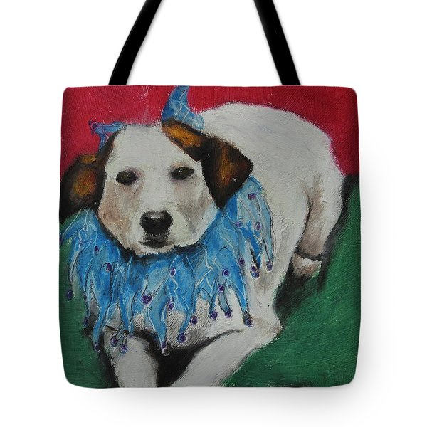 Mikey Tote Bag by Jeanne Fischer