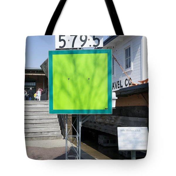 Mile Marker 579.5 Tote Bag by Steven Ralser