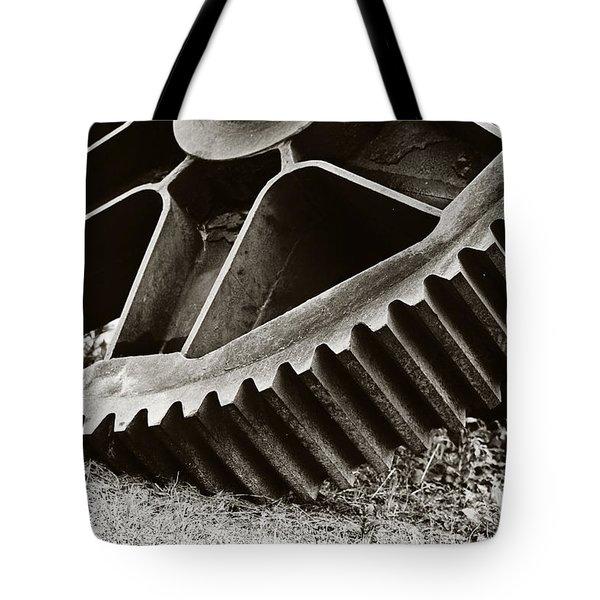 Mill Gear Tote Bag by Scott Pellegrin