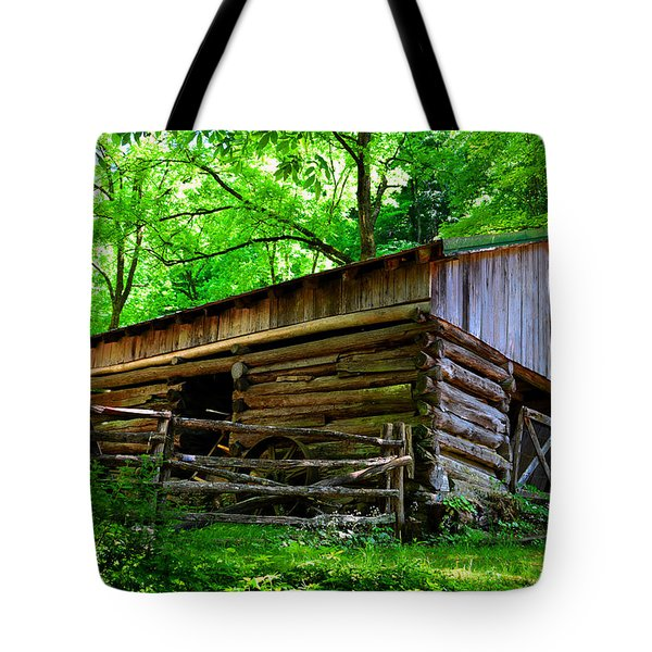 Mill House Barn Tote Bag by David Lee Thompson