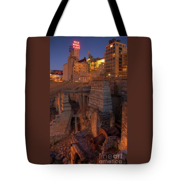 Mill Ruins Park Tote Bag by Kent Taylor