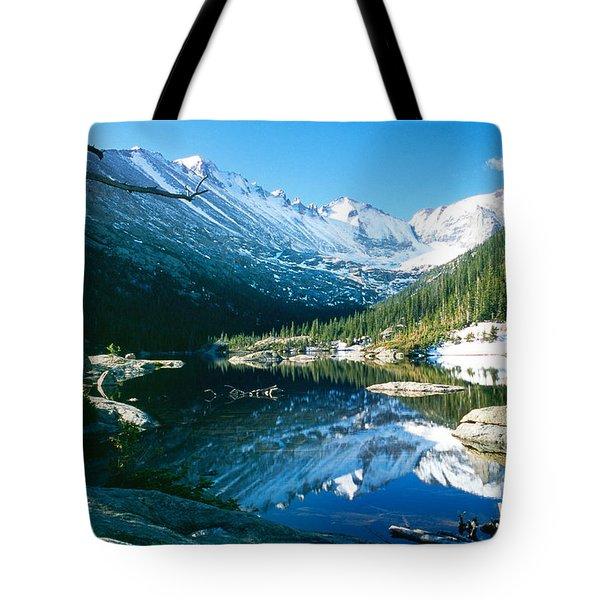Mills Lake Tote Bag by Eric Glaser