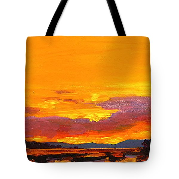 Mimosa Sunrise Tote Bag by Mike Savlen