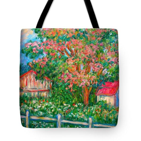 Mimosa View Tote Bag by Kendall Kessler