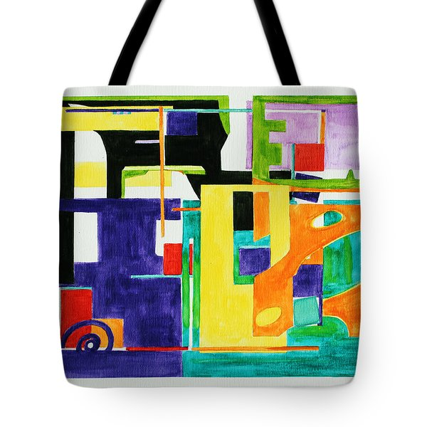 Mindscape II Tote Bag by Xueling Zou