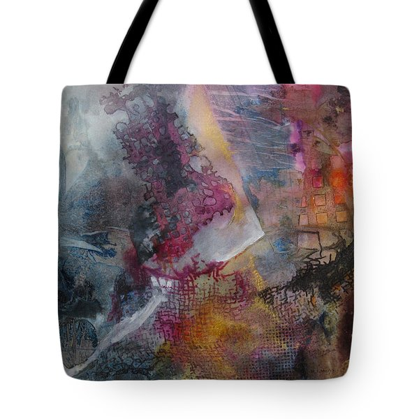 Mindscape Tote Bag by Marilyn Woods