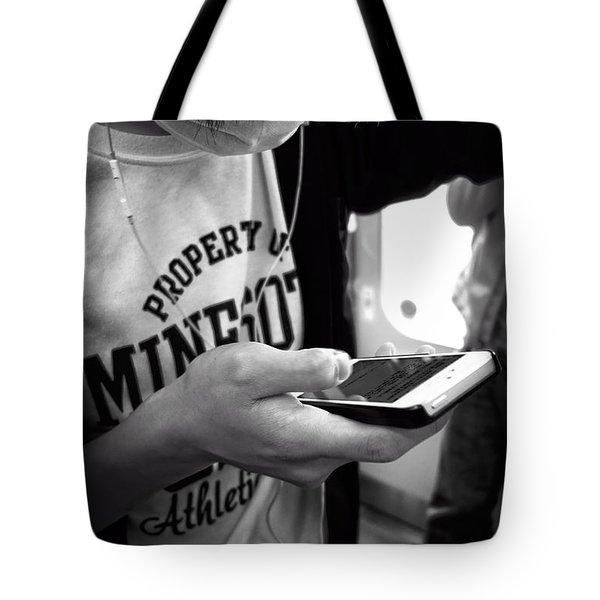 Minesota Kyoto Tote Bag by Daniel Hagerman
