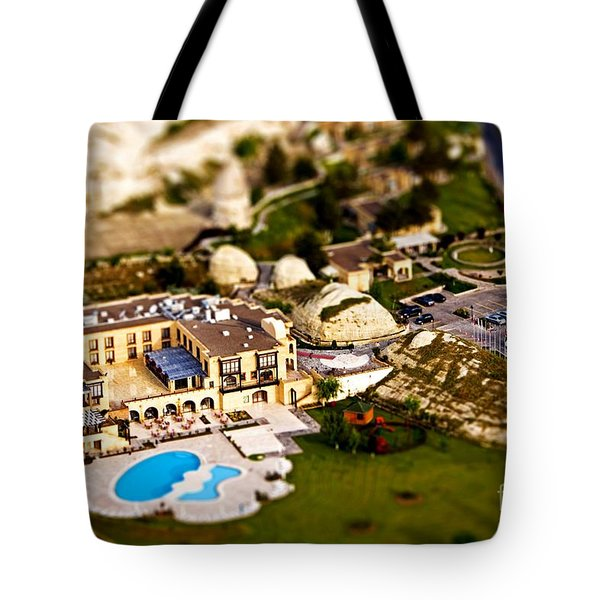 Mini Getaway Tote Bag by Andrew Paranavitana