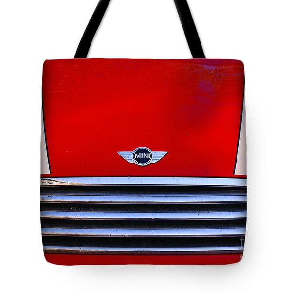 Mini Red Tote Bag by Aimelle