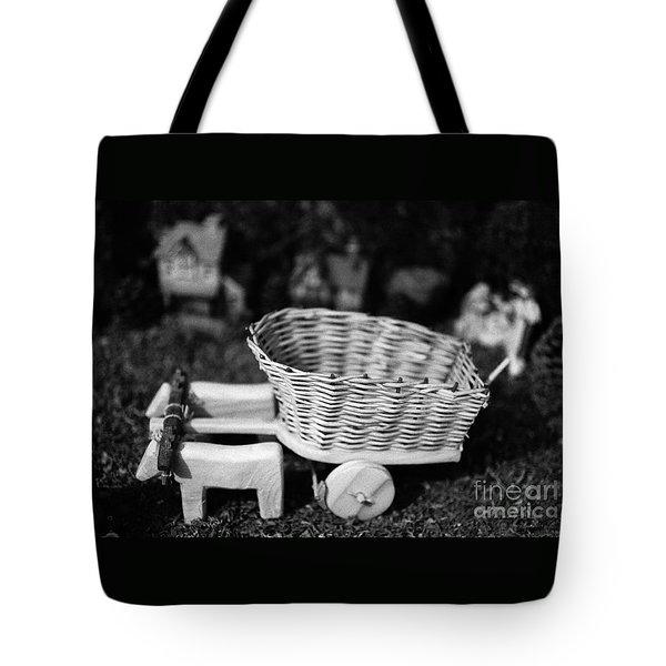 Miniature Oxen-cart Tote Bag by Gaspar Avila