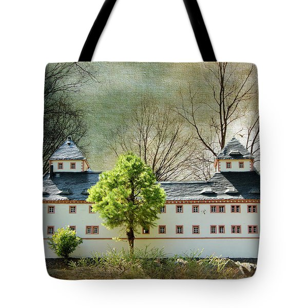 Miniatures Augustusburg Tote Bag by Heike Hultsch