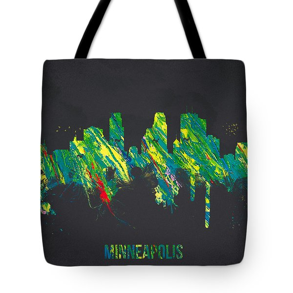 Minneapolis Minnesota USA Tote Bag by Aged Pixel