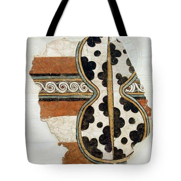 Minoan Livestock Painting Tote Bag by Ellen Henneke